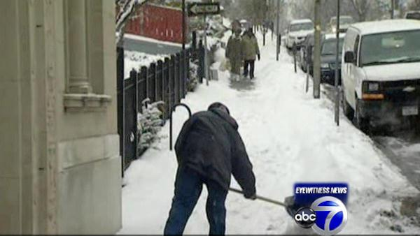 Rye streets clear after round one of snow
