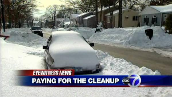 High Snow-removal costs leave city scrambling for funds