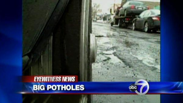 City fighting a losing battle with potholes