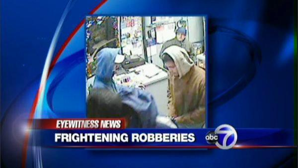 Gang of robbers target Long Island businesses