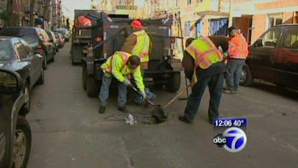 New York City pothole repair initiative