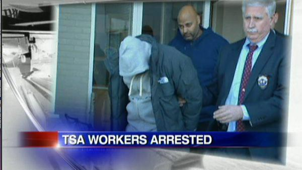 TSA officers charged with stealing thousands from passengers