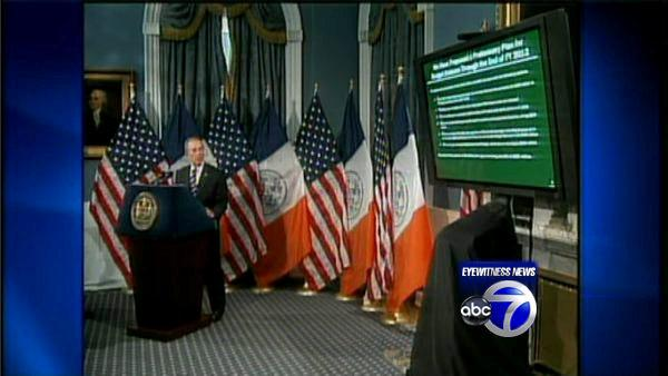 Bloomberg lays out budget plan, teacher cuts