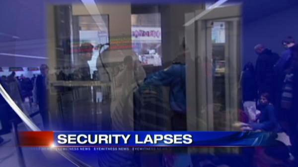 Newark's airport security is under review