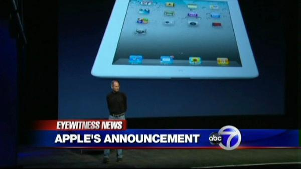 Apple reveals the iPad 2