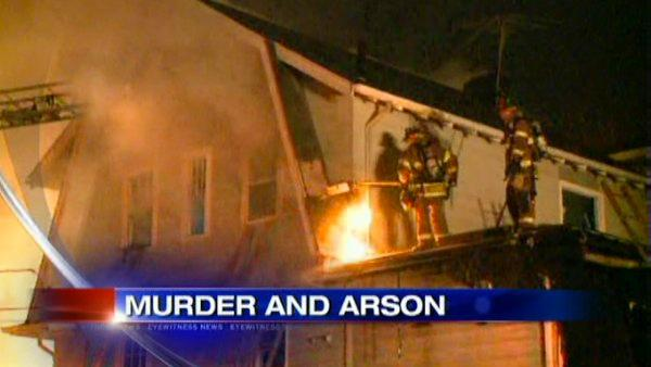 House fire set to cover up murder