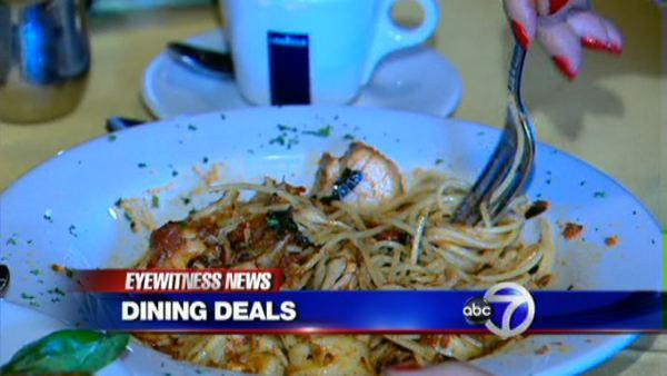 Hefty dining discounts at the city's finest restaurants
