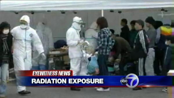 Growing radiation concerns in Japan