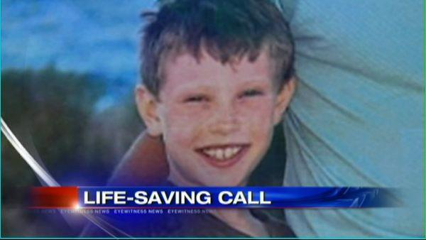 Boy saves babysitter by calling 911