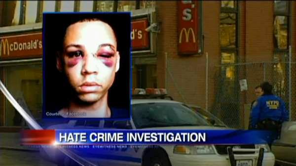 Hate crime investigation in Greenwich Village