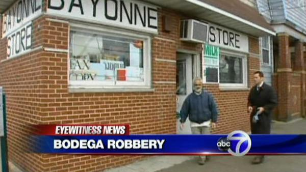 Bodega clerk and customer take on armed gunman