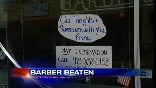 Authorities search for suspects who beat 79 year-old barber