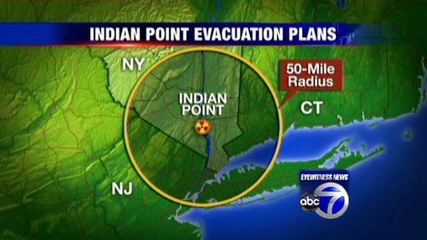 Debate over Indian Point evac plan