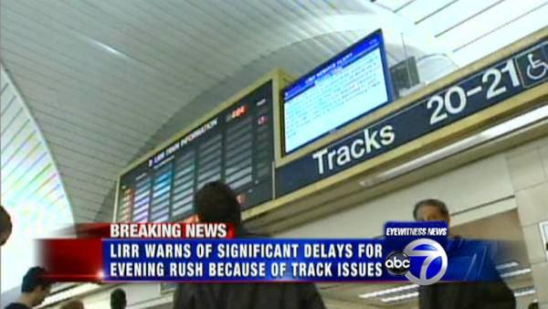 Heavy LIRR delays expected through evening rush