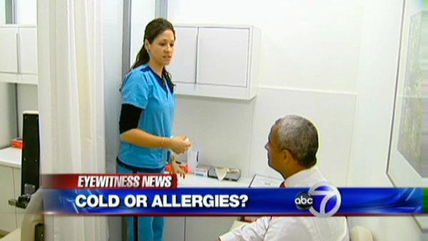 How to know if it's a late winter cold or spring allergies?