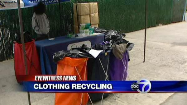 How you can help reduce waste by recycling your old clothes