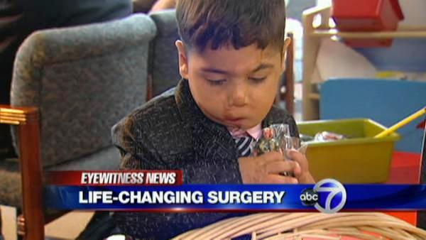 Disfigured 3-year-old Iraqi boy finds hope in Long Island