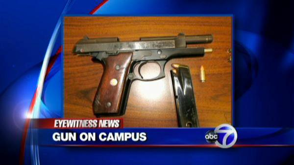 8 year-old sells gun to another boy at school