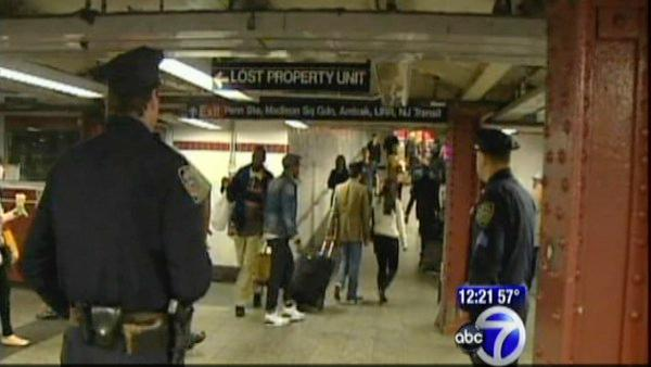 Transit security beefed up