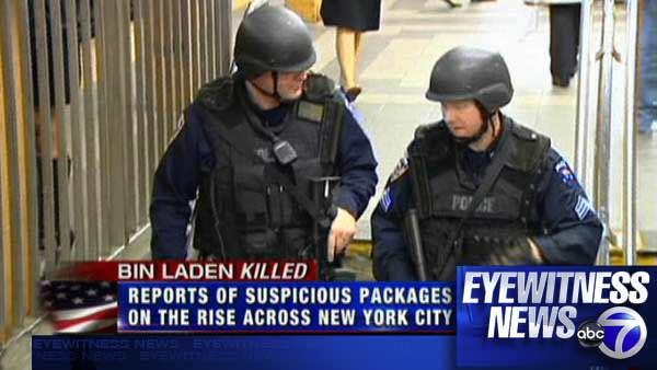 Security high as suspicious package calls spike