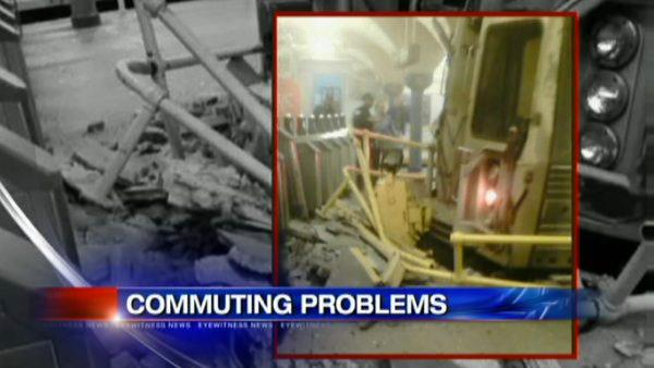 One track running after Hoboken PATH train crash