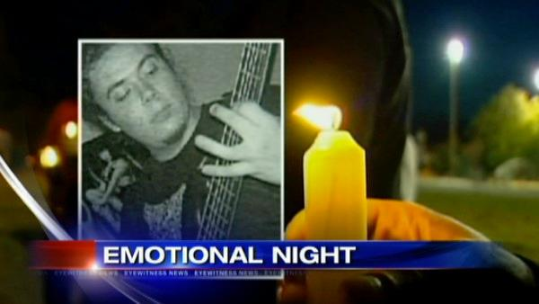 Vigil held for wrong-way crash victim in NJ