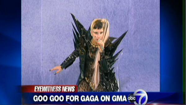 Lady Gaga kicks off GMA summer concert series