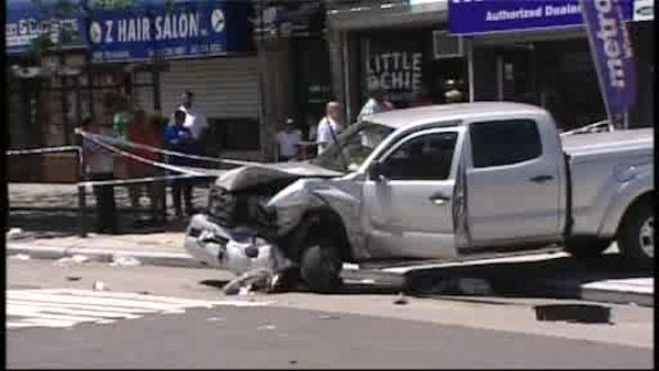 Woman, 89, killed in Harlem accident