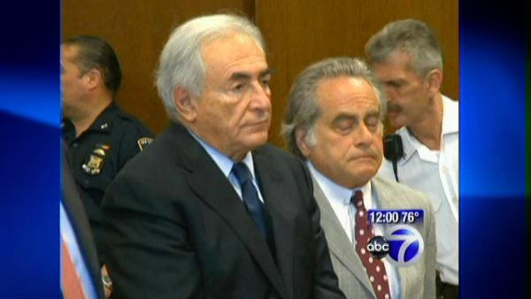 Dominique Strauss-Kahn pleads not guilty at arraignment