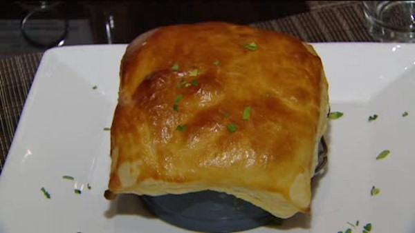 Chicken pot pie from PSbklyn