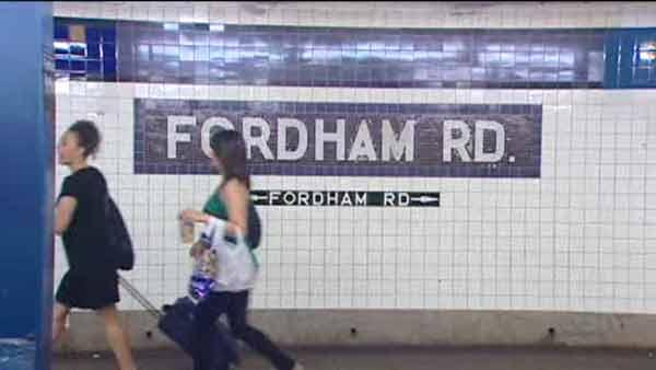 A look at the Fordham road stop in the Bronx