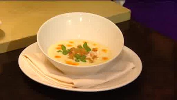 Eats: Chilled corn soup