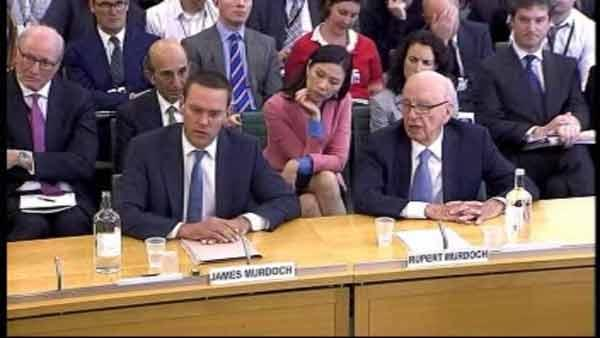 Murdoch testifies over hacking scandal