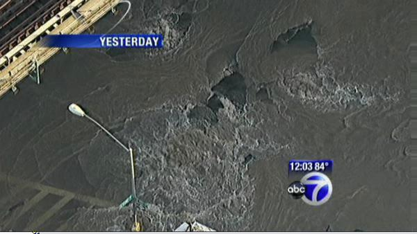 Bronx cleaning up after water main break