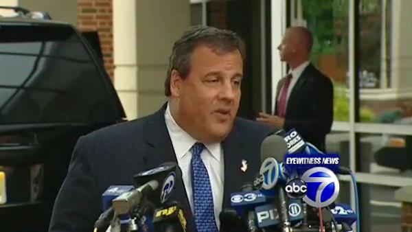 Gov. Christie heads back to work