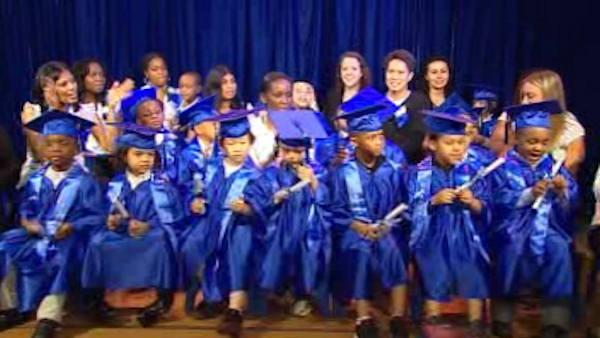 Graduation day for autistic students
