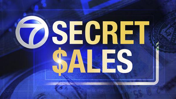 Secret Sales for March 8, 2012