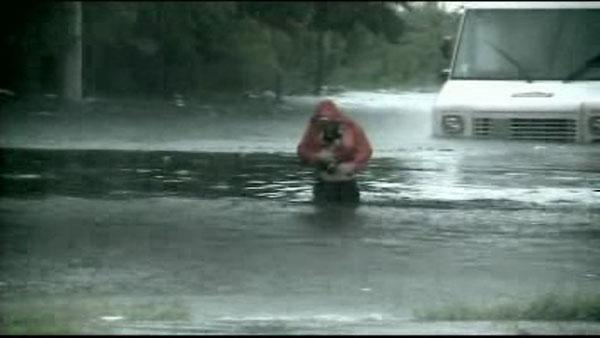 10 inches of rain in parts of Long Island