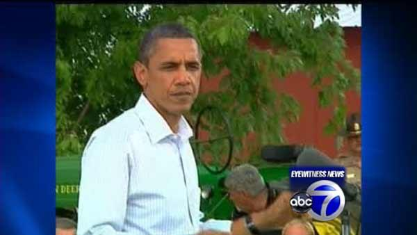 Obama extends Irene disaster area before NJ tour
