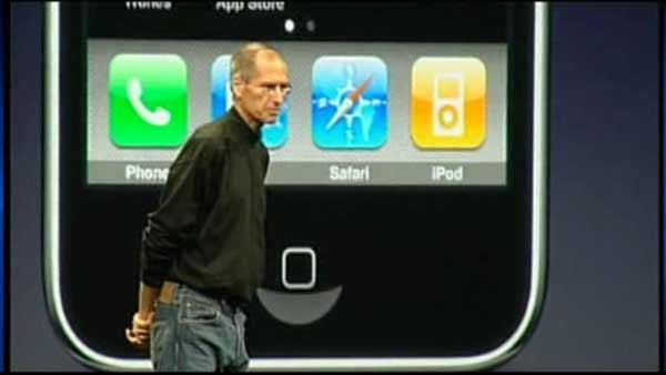 Apple stock lower after Steve Jobs abruptly announced resignation