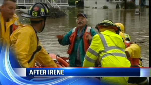 After Irene: Elmsford, NY