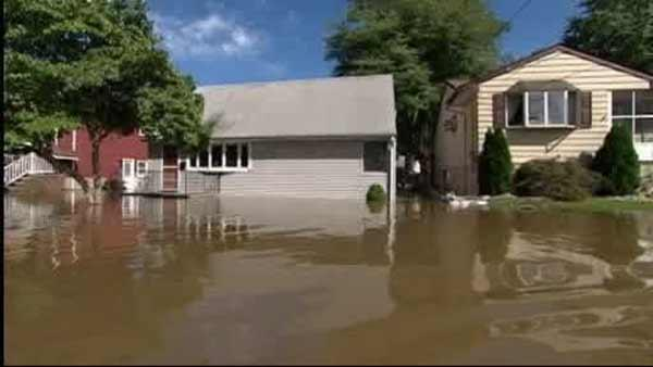 Record-breaking flooding across New Jersey
