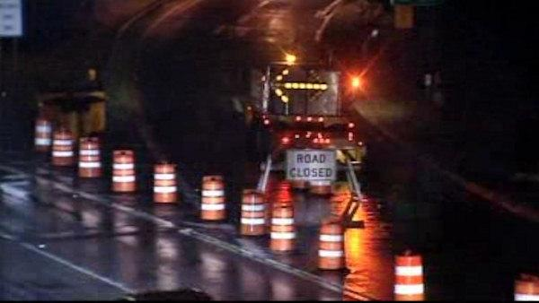 Road closures and flooding in Westchester Co.