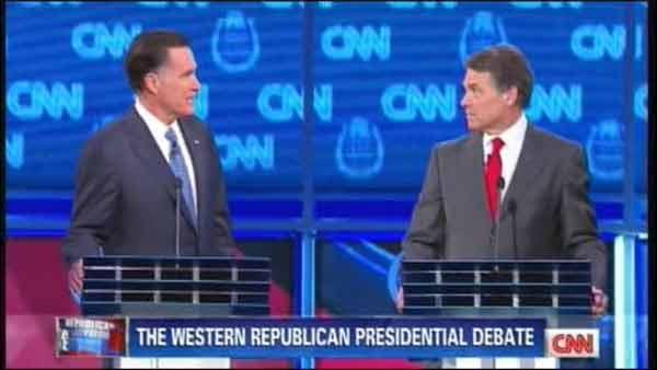 GOP Debate heats up in Las Vegas