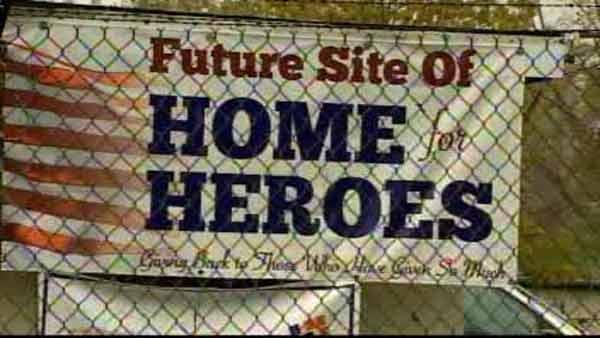 A new home for homeless disabled veterans