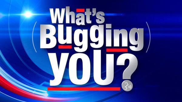 What's bugging you: Names