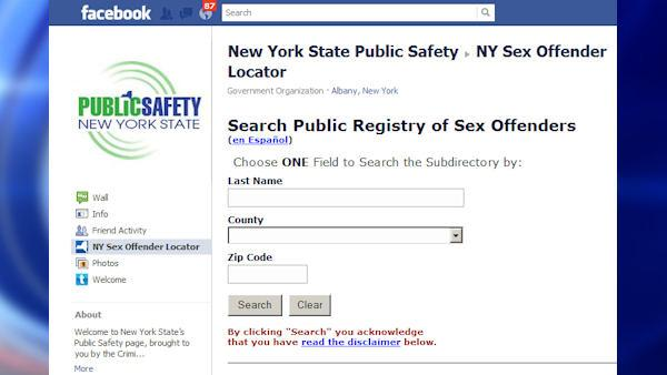 Sex offender registry on Facebook ahead of Halloween
