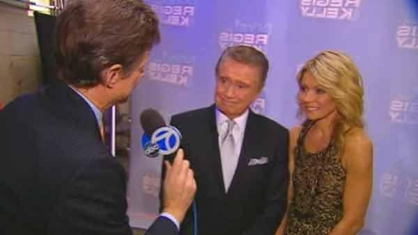 Web Extra: First interview with Regis after final show