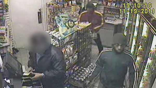 Surveillance video of Queens robbery