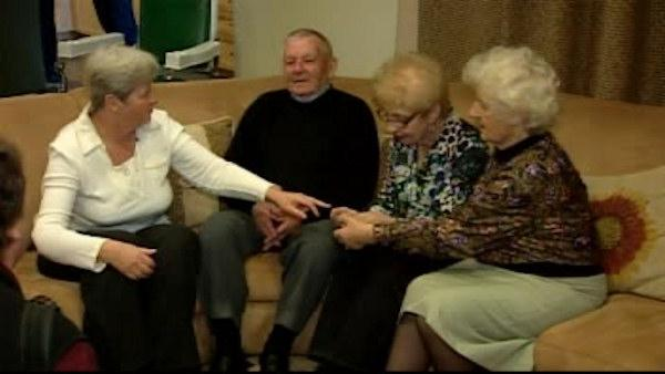 Holocaust survivor reunites with her rescuers